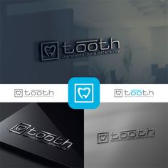 Design a classy modern logo for a dental office? by Winning design by One Stroke™ Dental Clinic Logo, Dentist Logo, Dentist Clinic, Teeth Logo, Dental Office Decor, Office Logo, Dental Office Design, Clinic Design, Modern Logo