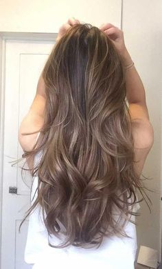 Hair, Ash brown hair, Long hair styles, Light ash brown hair, Hair cuts Hair styles 2017 - The most popular hairstyle for you in the summer of 2019 Page 14 Hairstyle - Light Ash Brown Hair, Ash Brown Hair Color, Brown Hair Shades, Brown Hair With Highlights, Dark Hair, Hair Colour, Light Brown Hair Colors, Mocha Brown Hair, Ashy Brown Hair