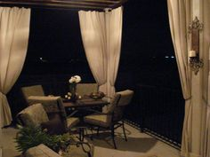 Our Home Away From PAINTERS CANVAS DROP CLOTH PROJECT Outdoor CurtainsOutdoor
