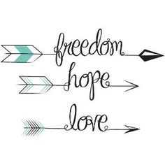 arrow tattoos - getting BLESSED and faith put in the middle of the arrow. When life is dragging you back with struggles, you are soon going to shoot forward into something great by josephine