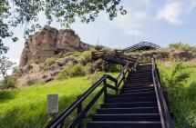 Fun Things to Do Near Billings Montana: Pompey's Pillar National Monument