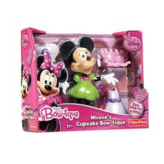 "Fisher-Price Minne Mouse Bow-Tique Playset - Minnie's Cupcake Bow-tique - Fisher-Price - Toys ""R"" Us"