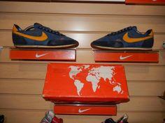 VTG OG 1981 Nike Robbie RoadRacer Running Shoes with box sz 7 Waffle Blue 1024 #Nike #AthleticSneakers