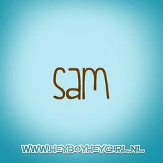 Sam (Voor meer inspiratie, en unieke geboortekaartjes kijk op www.heyboyheygirl.nl)