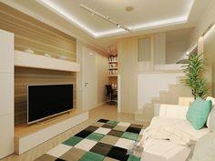 amenajarea unui apartament sub 30 de metri patrati Under 30 square meter apartment design ideas 17