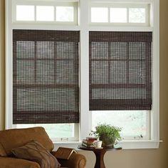 Front Windows Roman Shades And Window On Pinterest