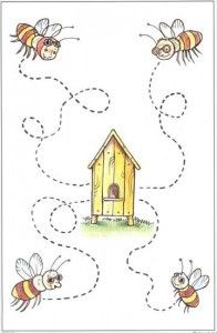 Crafts,Actvities and Worksheets for Preschool,Toddler and Kindergarten.Lots of worksheets and coloring pages. Preschool Writing, Preschool Themes, Tracing Worksheets, Preschool Worksheets, Handwriting Activities, Pre Writing, Toddler Books, Bee Theme, Kids Education