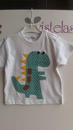 VISTELAS. Camiseta DINOSAURIO