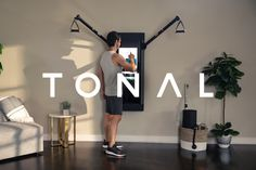 Tonal: The World's Most Intelligent Home Gym and Personal Trainer Easy Workouts, At Home Workouts, Endurance Workout, Gym Trainer, High Intensity Interval Training, At Home Gym, No Equipment Workout, Fitness Equipment, Personal Trainer