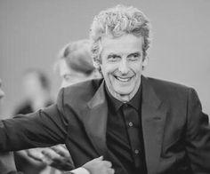 Peter Capaldi at the Scottish BAFTAS.