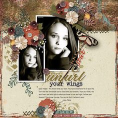 Value Pack: The Work In Between Know What You Want, Believe In You, You Can Do, Trust Yourself, Dreaming Of You, It Cast, Faith, Digital Scrapbooking Layouts, Let It Be