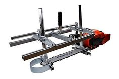 """Amazon.com: Zchoutrade Portable Chainsaw Mill 14-36 Inch Portable Aluminum Steel Mig Welding Saw Mill 36"""" Planking Lumber Cutting Bar: Home Improvement"""