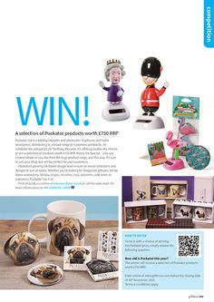 Gift Focus Magazine Issue 91 September / October 2015 featuring our Reader Competition