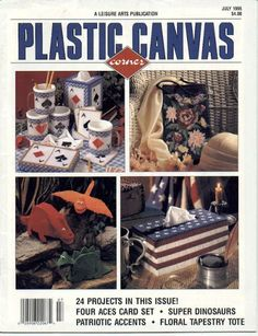 Plastic canvas corner July1995 - Mly AgH - Picasa Web Albums...FREE BOOK,PATTERNS AND INSTRUCTIONS!