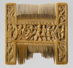 Liturgical Comb, English, c. 1200 - 1210