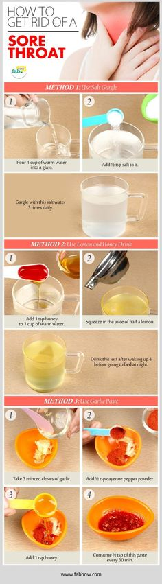 Home Remedy to Get Rid of a Sore Throat Fast and Naturally