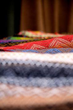 Fabrics at Pisac Market