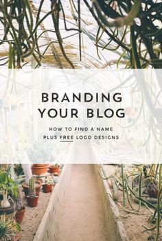 Naming Your Blog or Business + Free Logos - Creatives in Transit