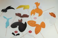 Photo Booth Props Rock and stone age by LUCIOUSMAXIMUS on Etsy