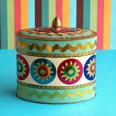 Vintage Decorative Tin