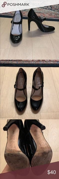 193c9b4b4cdc Kors by Michael Kors Black Heeled Mary Janes Black Mary Jane heels. Part of  the