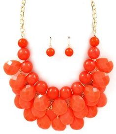 This Coral necklace looks fabulous especially when wearing whites or creams... Summer vacation is calling