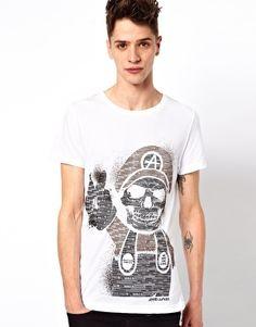 Joystick Junkies T-Shirt Mario Skull ~ Asos $31.66