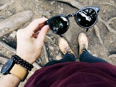 Sound of Style: DAPPER VINTAGE INSPIRED P3 KEYHOLE ROUND HORNED RIM SUNGLASSES 8992