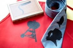 Screen-Printed Father's Day Gifts
