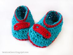turquoise & red for baby   Flickr - Photo Sharing!