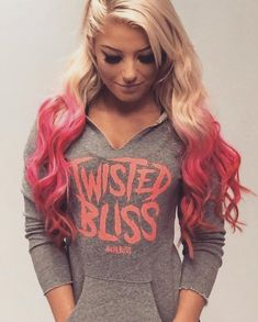 I wish I could have this sweat shirt and meet Alexa in person Alexis Bliss, Lexi Kaufman, Wwe Women's Division, Wwe Female Wrestlers, Wwe Girls, Raw Women's Champion, Wrestling Divas, Total Divas, Nxt Divas