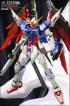 MG 1/100 Destiny Gundam - Customized Build