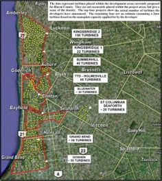 Meeting: Industrial Wind Turbines & Health Affected Residents of Huron County to Board of Health