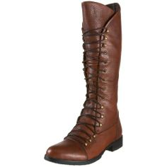 Miz Mooz Women's Hannah Motorcycle Boot,Brown,10 M US $184.95 ($100-200) - Svpply