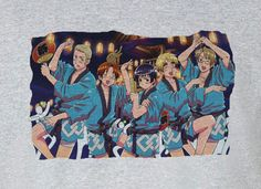Axis Powers Hetalia Italy Japan Germany Dancing Tee T-Shirt Shirt
