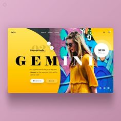 DOM Landing Page UI designed by Harshil Acharya. Connect with them on Dribbble; Website Design Inspiration, Website Design Layout, Web Layout, Graphic Design Inspiration, Layout Design, Web Banner Design, Web Ui Design, Design Blog, Web Design Trends