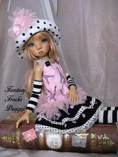 Frock Design, Doll Maker, Ooak Dolls, New Pins, Vintage Dolls, Doll Patterns, Frocks, Doll Clothes, Harajuku