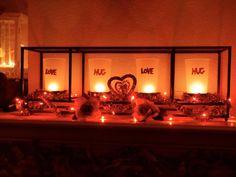 #Valentine's Day decor #PartyLite #candles