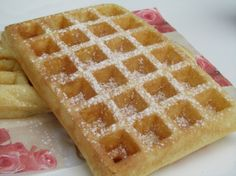 Gaufres de Bruxelles (Brussels waffles) (Recipe in French)