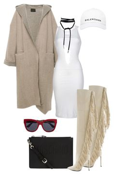 """""""Untitled #554"""" by jazz-mae on Polyvore featuring Dsquared2, Lust For Life, Moschino, Lamoda, Balenciaga and Dolce&Gabbana"""