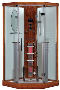 KY012AC Infrared Sauna Steam Shower Room Bluetooth