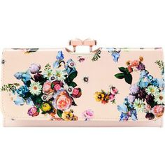 Ted Baker Enna Leather Matinee Purse, Nude Pink
