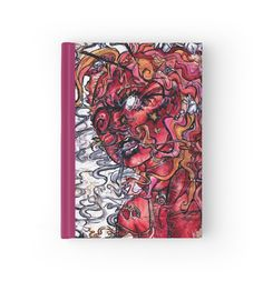 """""""Opiate Delirium Stationary"""" Hardcover Journals by bunnycarnival 