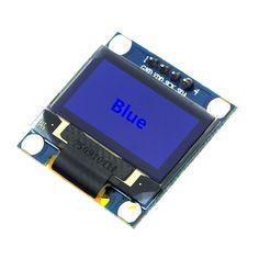 Smart Electronics Blue 0.96 Inch 128X64 OLED LCD LED Display Module IIC I2C Communicate for arduino Diy Kit