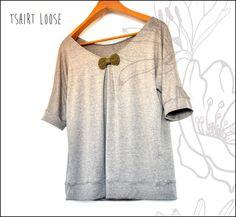 T-shirt loose MCPB