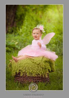 www.sarahdalbertophotography.com Baby girl.  Fairy princes.