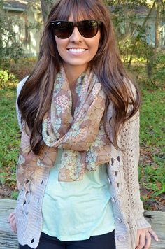 Always On My Mind Scarf: Multi #shophopes