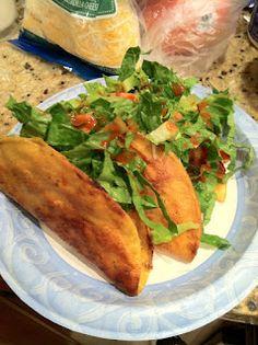 Pioneer Woman Chicken Tacos.... amazing!