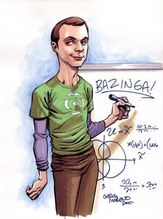 Big Bang Theory Sheldon by ChrisMoreno.deviantart.com on @deviantART