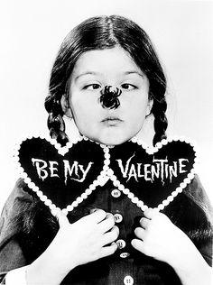 Lisa Loring as Wednesday Addams, 1965.